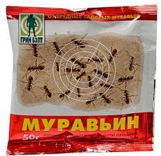 Муравьин средство от муравьев 50гр