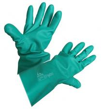 Перчатки Hydro зеленый нитрил Bellota 75103