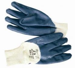Перчатки голубой нитрил Bellota 72170