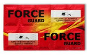 Force guard пластины от комаров двойной эффект
