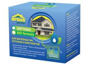 Argus garden Septonic BIO formula для выгребных ям, септиков и биотуалетов