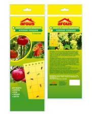 Argus garden клеевая ловушка для садовых вредителей 5 пластин
