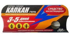 Преграда Русский Капкан-гель от тараканов и муравьев