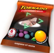 Торнадо шарики от моли 50гр