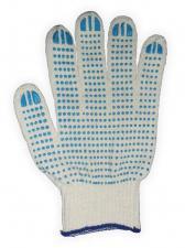 Перчатки с точечным резиновым покрытием
