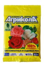 Агрикола удобрение для роз