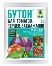 Бутон П стимулятор плодообразования для томатов, перцев, баклажанов 2гр