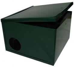 Ящик-укрытие для приманочной станции с хомутом