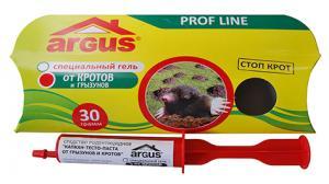 Средство от кротов гель Argus 30гр