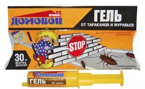 Домовой Прошка гель от тараканов и муравьев 30мл