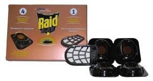 Raid Max диски-приманка от тараканов