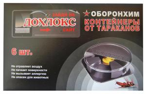 Дохлокс №1 диски от тараканов 6 штук