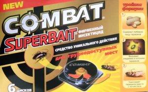 Combat SuperBait Декор диски от тараканов 6шт