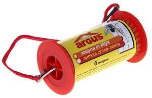 Argus липкая супер-лента от мух 10 см х 6 м